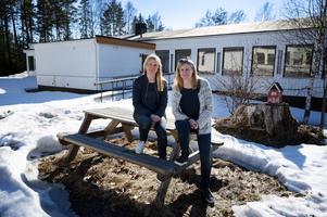 Eva Alkelöv och Lena Olofsson ligger bakom etableringen av den nya förskolan Drakägget i Ankarsvik.