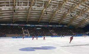 Yenisei Ice Stadium. Bild: Örjan Stål