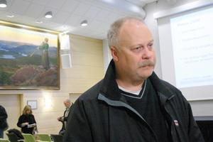 Kalle Sahlin, IF Metalls ordförande på Outokumpu i Avesta.