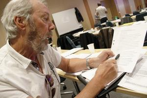 Rolf Hjelm misstänker att hans medborgarförslag kommer att avslås.