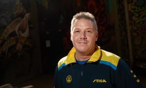 Förbundskapten Peter Blomquist från Söderhamn.