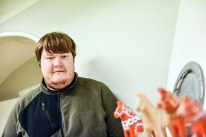 Robin Holland är en av de som drabbades när Arbete och utveckling inte längre driver intaget på Återvinningscentralen.