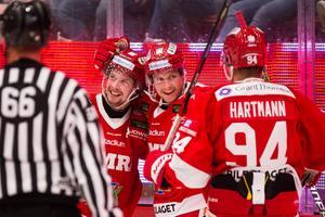 En duo som firat framgångar under hösten, Dahlén och Lööke. Foto: Pär Olert / BILDBYRÅN.