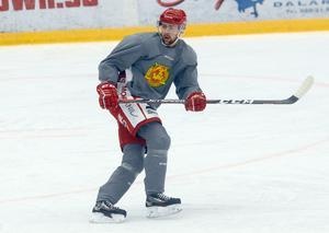 Skridskoåkningen är ett av Oskar Svanlunds främsta vapen som hockeyspelare.