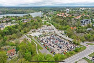 Flygbild över området. Foto: Privat