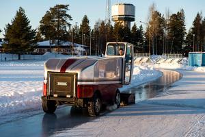 I vinter blir det ingen is på Skyttis i Örnsköldsvik.