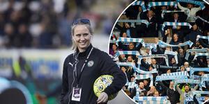 Sandra Almqvist rapporterar att det är sex tusen biljetter sålda till matchen mellan ÖSK och Malmö FF på lördag. Foto: Mikael Sundberg och Bildbyrån