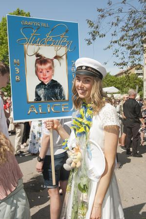 Alice Abrahamsson, N3B.