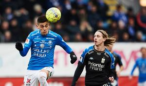 Dennis Hadzikadunic var förra våren utlånad till Trelleborgs FF. Bild: Andreas Hillergren/TT.