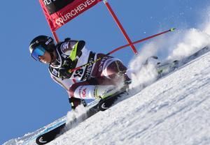 Sara Hector blev bästa svenska i Frankrike. Bild: TT