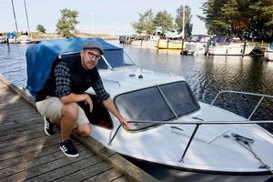 John Ygemar vill komma i kontakt med ägaren till båten.