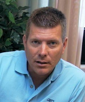 Patrik Uhras, projektledare för bygget av nya resecentrum.