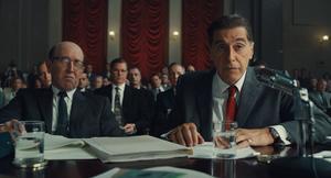 Al Pacino spelar den berömde fackföreningsledaren Jimmy Hoffa i Martin Scorseses