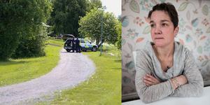 """Lucas Löfström har varit försvunnen i nio månader. Nu ska den upphittade kroppen analyseras av Rättsmedicinalverket: """"Jag vet inte hur lång det här tid kommer att ta"""" säger Sara P Larsson. Foto: Ingmar Reslegård/Karin Johansson"""