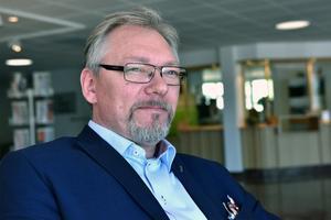 Stefan Linde menar att det är viktigt att man pratar med varandra, inte om varandra, och att utmaningen framöver blir att marknadsföra Forum Älvdalen ytterligare.