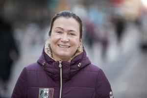 Lotta Sjöberg har hittat sig själv igen och en ny, mer anonym tillvaro, i Gävle.