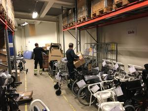 De tätare leveranserna av hjälpmedel kommer att gynna patienter i norra Hälsingland, enligt Region Gävleborg. Bild: Mårten Jäderholm.