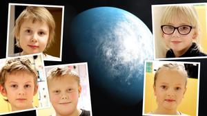 Vilka planeter skulle behöva ett besök? Fem barn svarar. Bilder: Micke Engström, Nasa