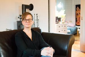 Pernilla Delcomyn har inga symptom idag, trots lillhjärneinfarkten.