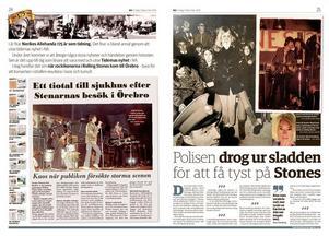Rolling Stones spelade i Örebro 1967 under stort tumult.