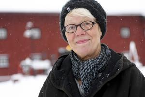 Rita Södergård, hembygdsföreningens ordförande.