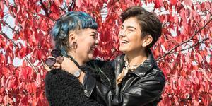 Linn Grins och Paulina Hjertton från indiepopbandet Raketklubben är aktuella med en ny singel.