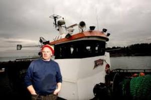 Karl-Åke Wallin är den siste yrkesfiskaren i Stocka.