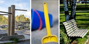 Utegym, lekplatser och parker får sig en upprustning i höst.