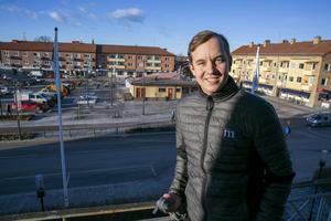 """""""Vi vill ha något som passar in i det nya och luftigare Torget"""", säger Sebastian Larsson."""