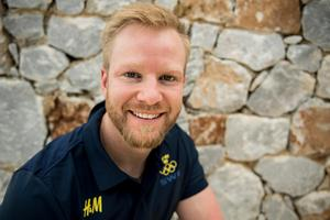 Niklas Edin blir Sveriges fanbärare vid invigningen i Pyeongchang. Bild: Petter Arvidsson/Bildbyrån