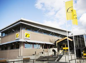 Gavlegårdarnas nya huvudkontor i Hemsta.