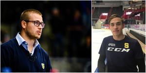 SSK-coachen Dennis Bozic ger nye backen Adam Wilsby chansen direkt. Foto: Bildbyrån och Mittmedia.