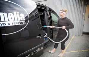"""Katja Järvelä är född i Pershagen, och """"hatade skolan"""". Hon bestämde sig tidigt för att bli egen företagare."""
