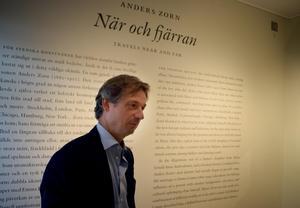 Zornmuseets chef Johan Cederlund tycker att det har varit roligt att arbeta med sommarens utställning.