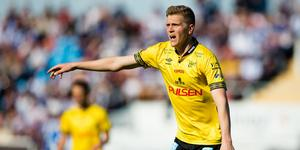 Joakim Nilsson från Härnösand är den bästa mittbacken i Bundesliga 2. enligt Kicker. Bild: Michael Erichsen/Bildbyrån