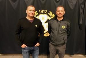 Brynäs nya tränare Magnus Sundquist och Mikael Holmqvist