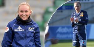 Wilma Wärulf och Olivia Wänglund har dragit till sig intresse från flera olika klubbar i Elitettan och Damallsvenskan. Bild: ST.