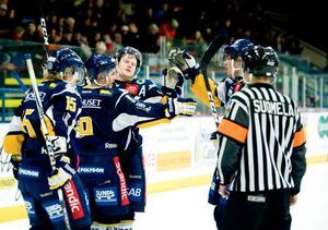 Borlänge vann matchen mot Falun. Men först på extratid fixades segern.