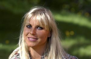 Josefine Nilsson, fotograferad 2002.