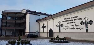 Den syrisk ortodoxa katedralen S:t Jacob av N'sibin i Hovsjö.
