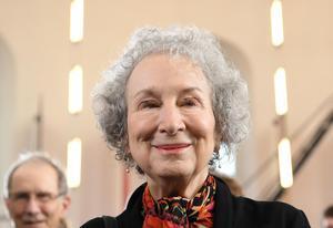Margaret Atwood var den författare som sålde bäst i Storbritannien i fjol. Foto: Arne Dedert