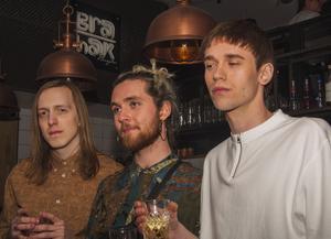 Bra Haks Klubben. Alex, Tom och Johan. Foto: Fabian Zeidlitz