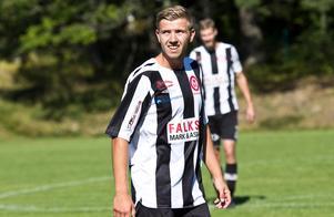 Calle Fager är tillbaka i moderklubben efter en sejour med Köpings FF i division 3. Foto: David Eriksson/arkiv