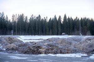 Kylanläggningen vid Sundsvalls sjukhus. Hittills i år är det snökanoner som förser anläggningen med snö.