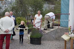 Bygdegården är en samlingsplats för de som bor på Oaxen.