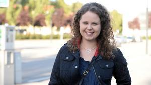 Michaela Dahlström, 24, lärare, Sundsvall.