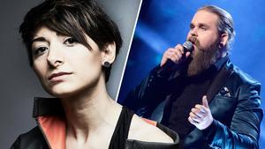 Melanie Wehbe från Västerås var en av tre låtskrivare till vinnarlåten
