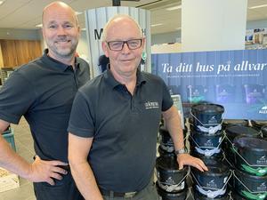 Tomas och Kenneth på Colorama Calles Färghall Gislaved.