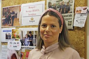 Isabella Piva Hultström tillträdde som ny hemtjänstchef i mars förra året.