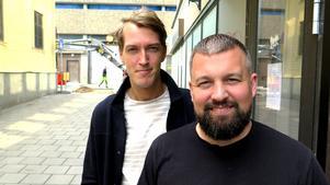 Filip Karlsson och Jonas Levin.